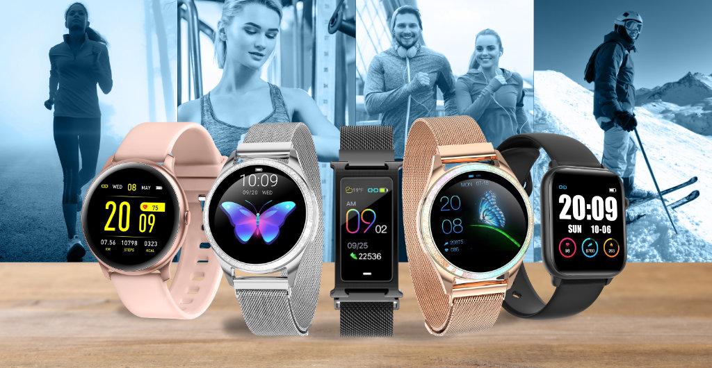 Předsevzetí s chytrými hodinkami a fitness náramky