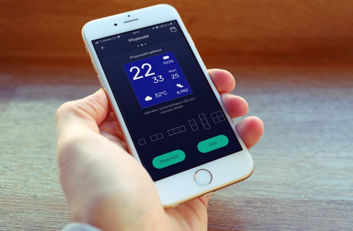Smartomat Squarz X GPS screeny mobilní aplikace