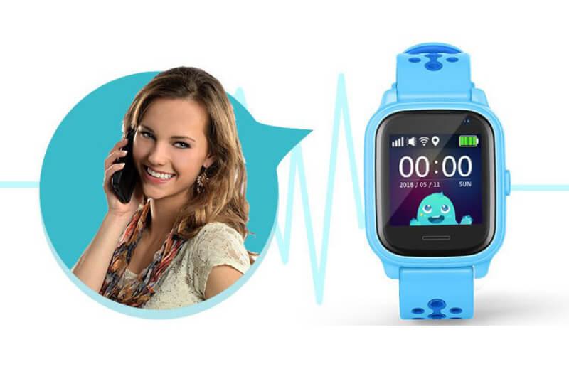 Smartomat Kidwatch 3 modrá