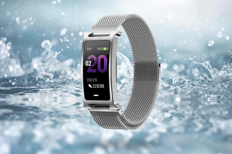 Smartomat Silentband 2 stříbrná