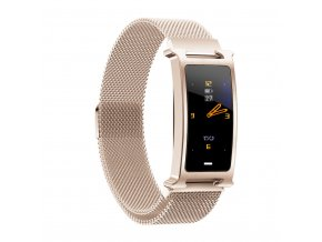 Chytrý kovový fitness náramek Smartomat Silentband 2 chytré hodinky 15
