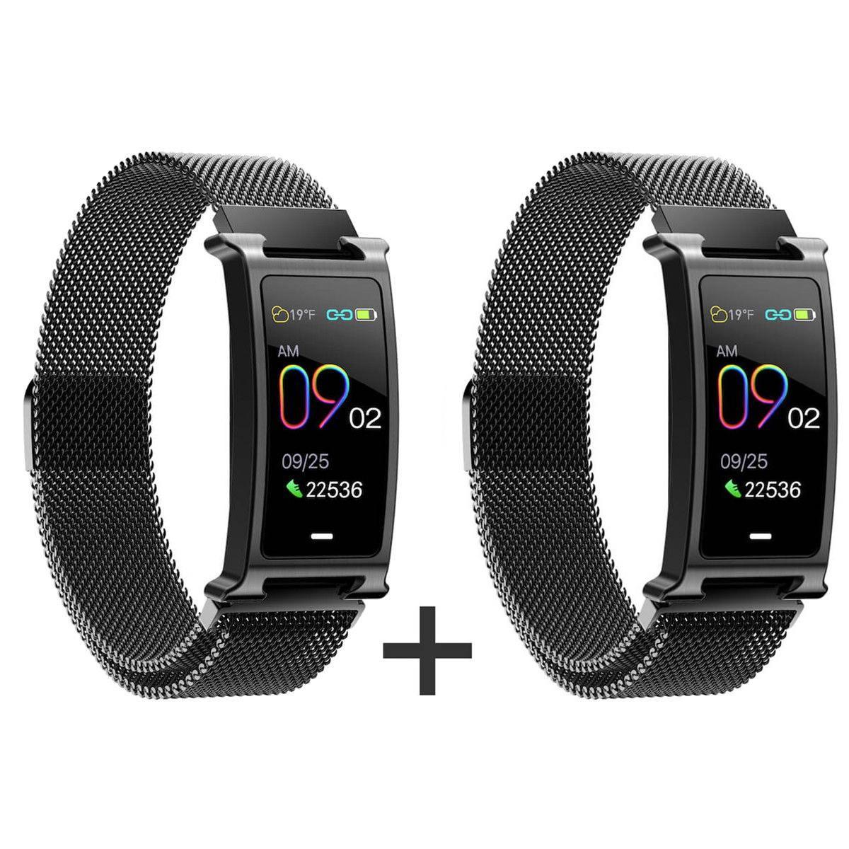 Zvýhodněný set 1+1 Smartomat Silentband 2 černá + černá