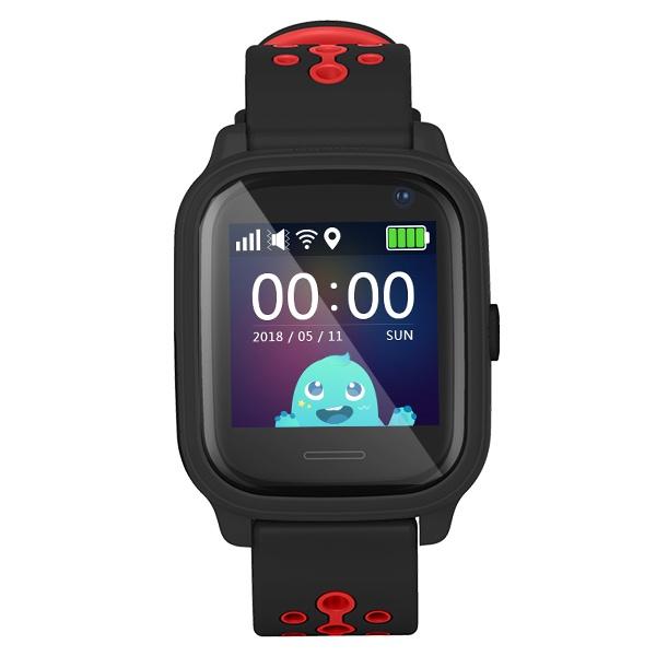 Smartomat Kidwatch 3 černá | PRO DĚTI, GPS lokátor, fotoaparát