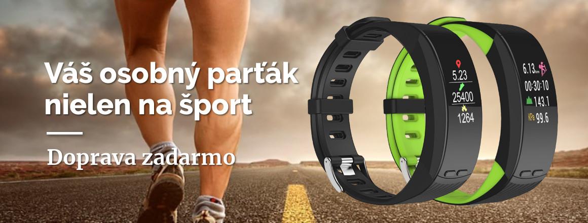 Fitness náramok P5 Plus