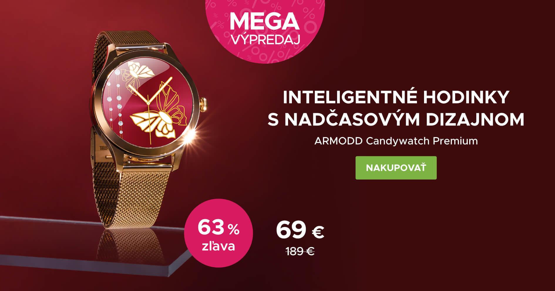 MEGA VÝPRODEJ: ARMODD Candywatch Premium zlatá