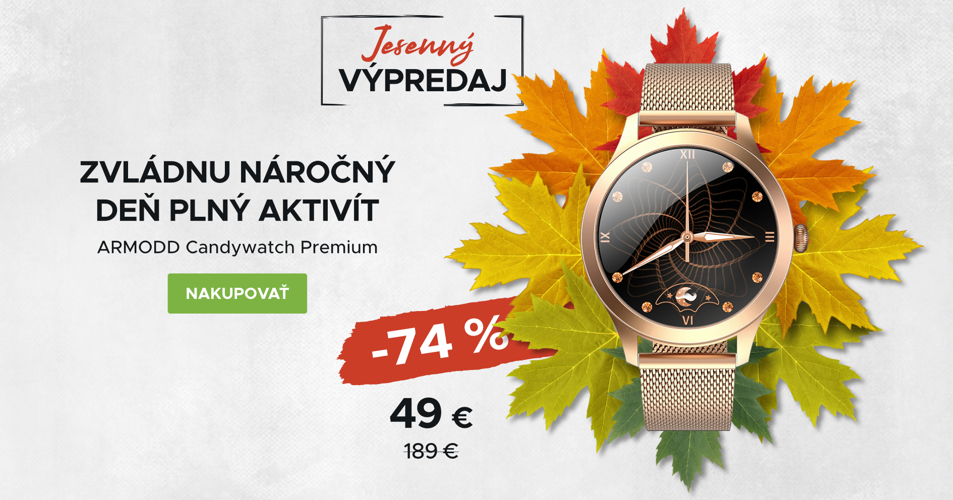 Podzimní výprodej: Candywatch Premium (desktop)