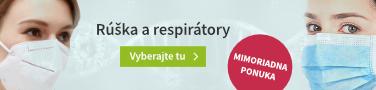 Roušky a respirátory