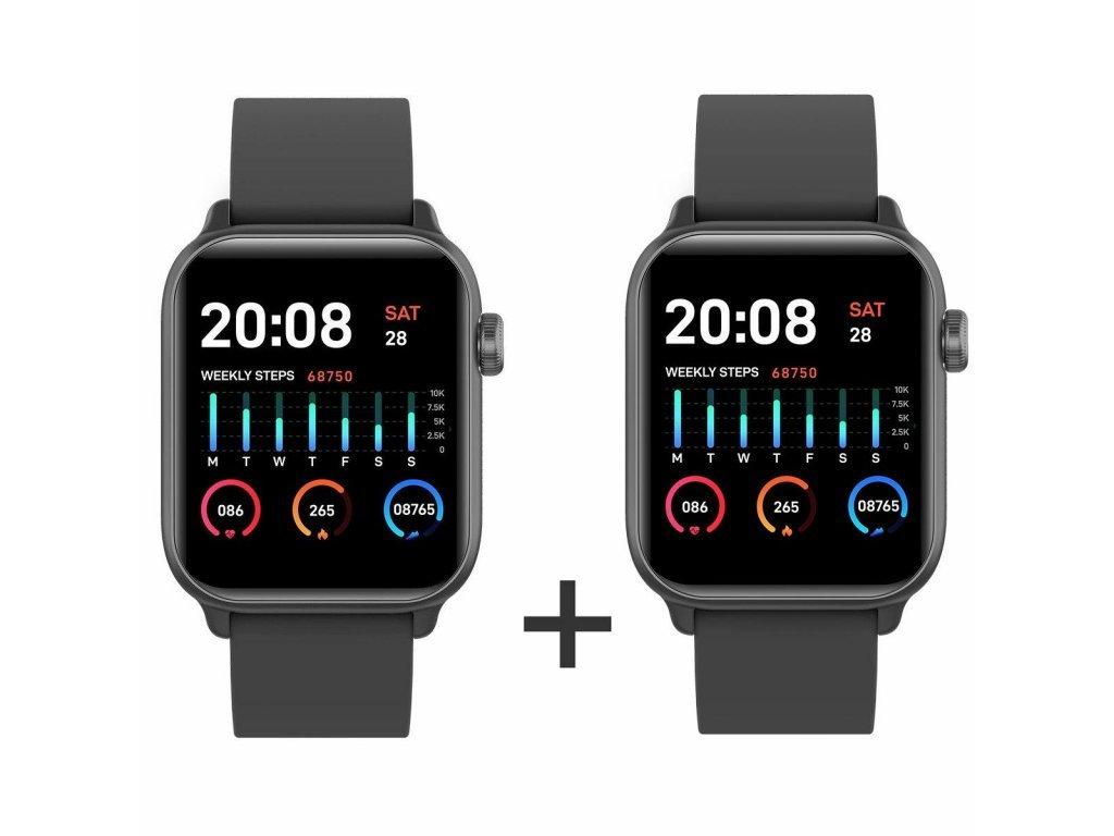 Zvýhodnený set 1+1 Smartomat Squarz 8 Pro čierna + čierna