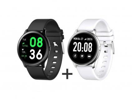 Zvýhodnený set 1+1 Smartomat Roundband 2 čierna + biela
