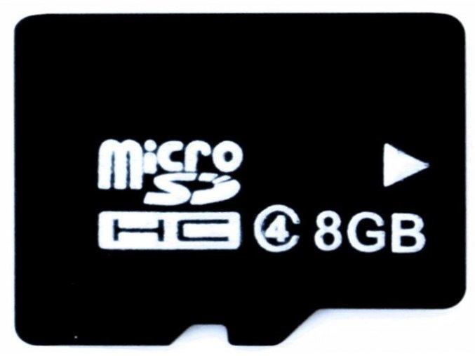 Pamäťová karta microSD 8 GB