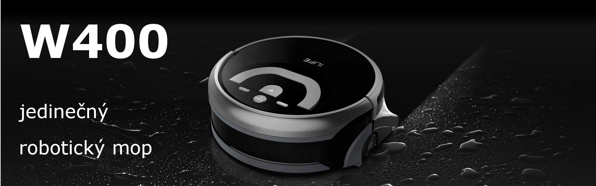 ilife w400 - robotický mop