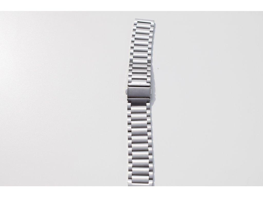 Xiaomi Amazfit Pace/Amazfit 2 luxusní ocelový náramek Stříbrná
