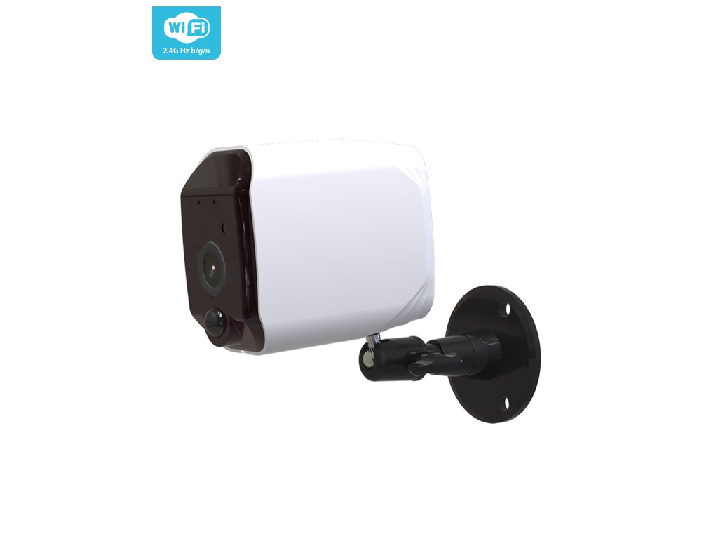 Tuya Smart Bezdrátová WIFI 2 Mpx fullHD bateriová venkovní kamera