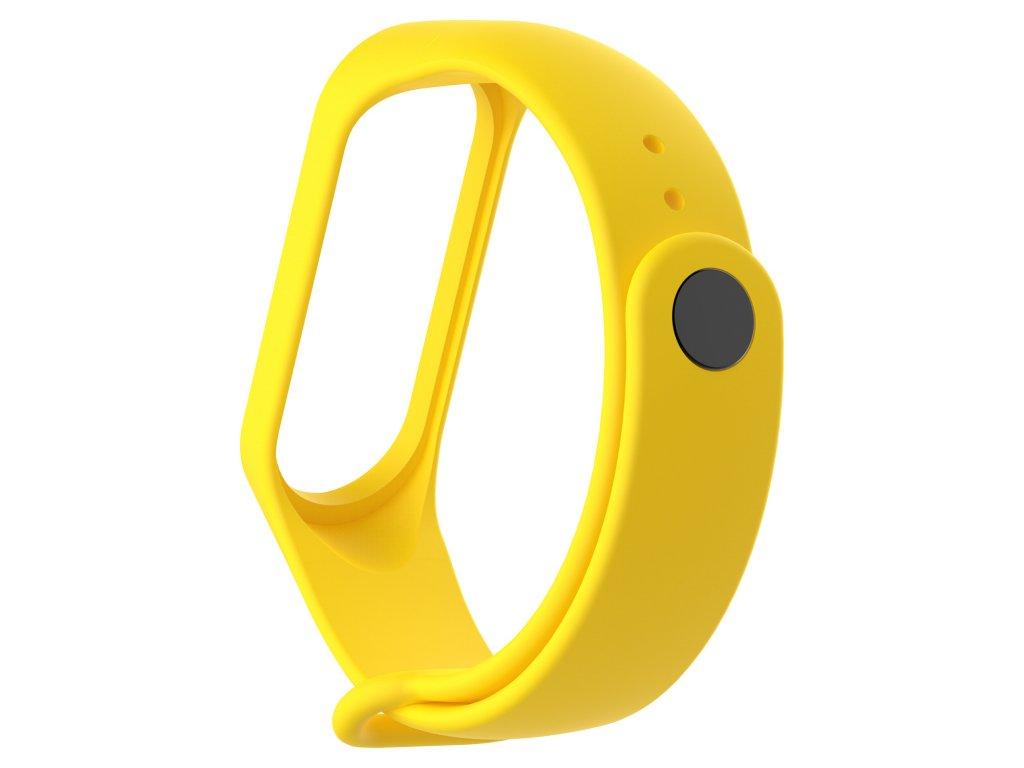 Xiaomi MiBand 3 / MiBand 4 náhradní náramek Yellow