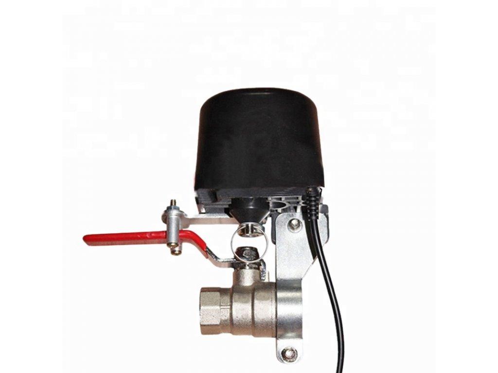 tuya wifi smart motorizované ovládání uzávěrů vody plynu