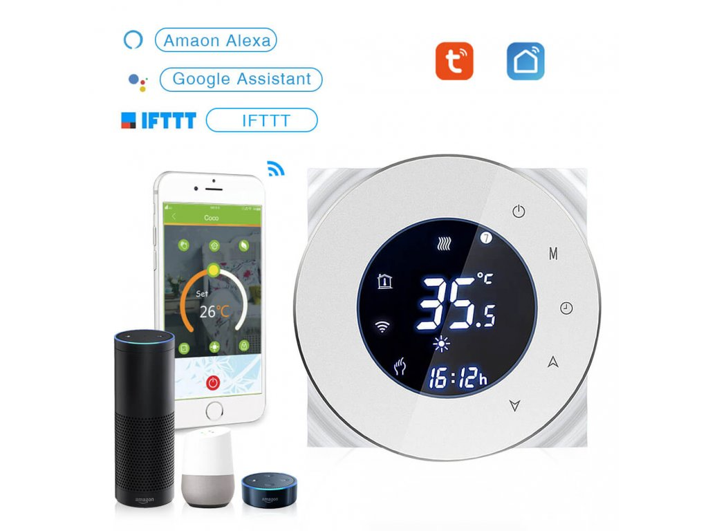 tuya termostat smartroom.cz bila