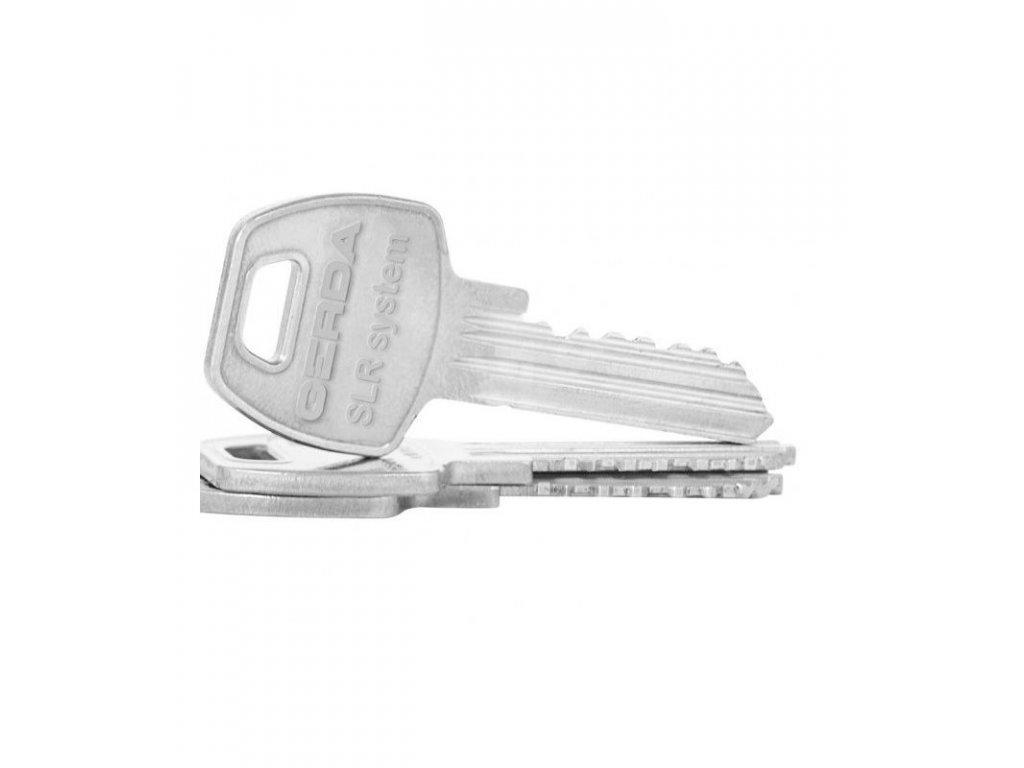 GERDA náhradní klíč pro Danalock zámky, 1ks