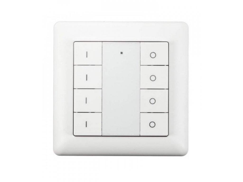 HEATIT Z-Push Button 8 - Bílý