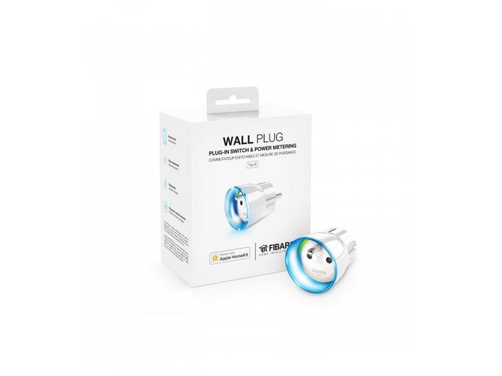 HomeKit inteligentní zásuvka - FIBARO Wall Plug Type E HomeKit (FGBWHWPE-102)