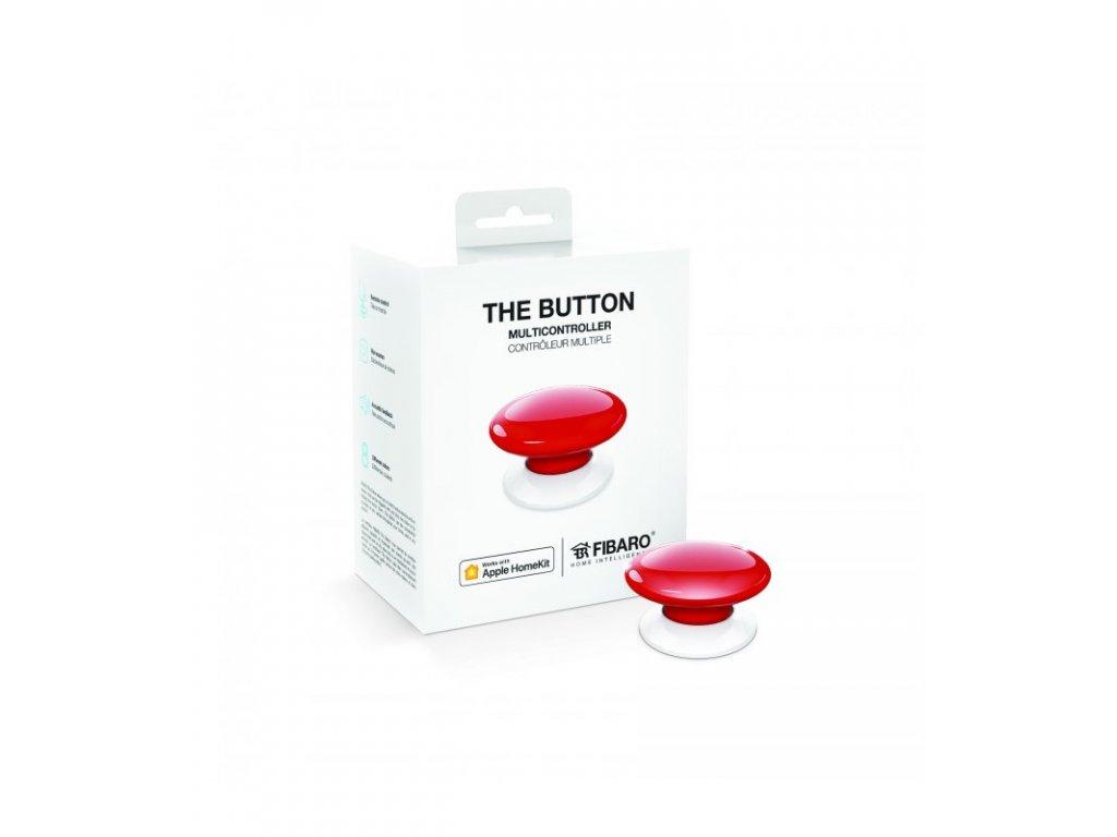 Fibaro Button HomeKit červené tlačítko (FGBHPB-101-3)