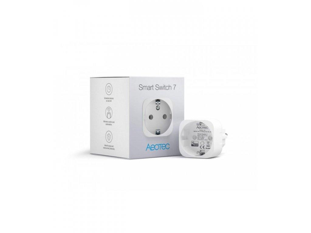 Chytrá zásuvka - Aeotec Smart Switch 7 (ZW175-C16)