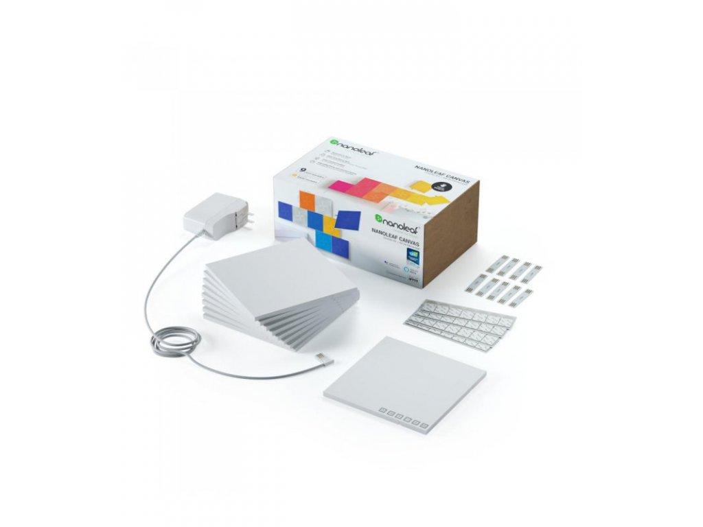 Nanoleaf Canvas Smarter Kit (9 Light Squares)
