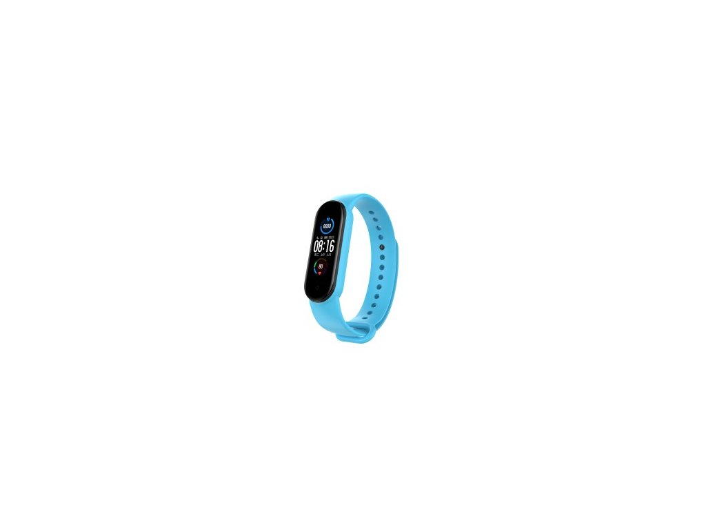 Xiaomi Mi Band 5 náhradní náramek - Light Blue