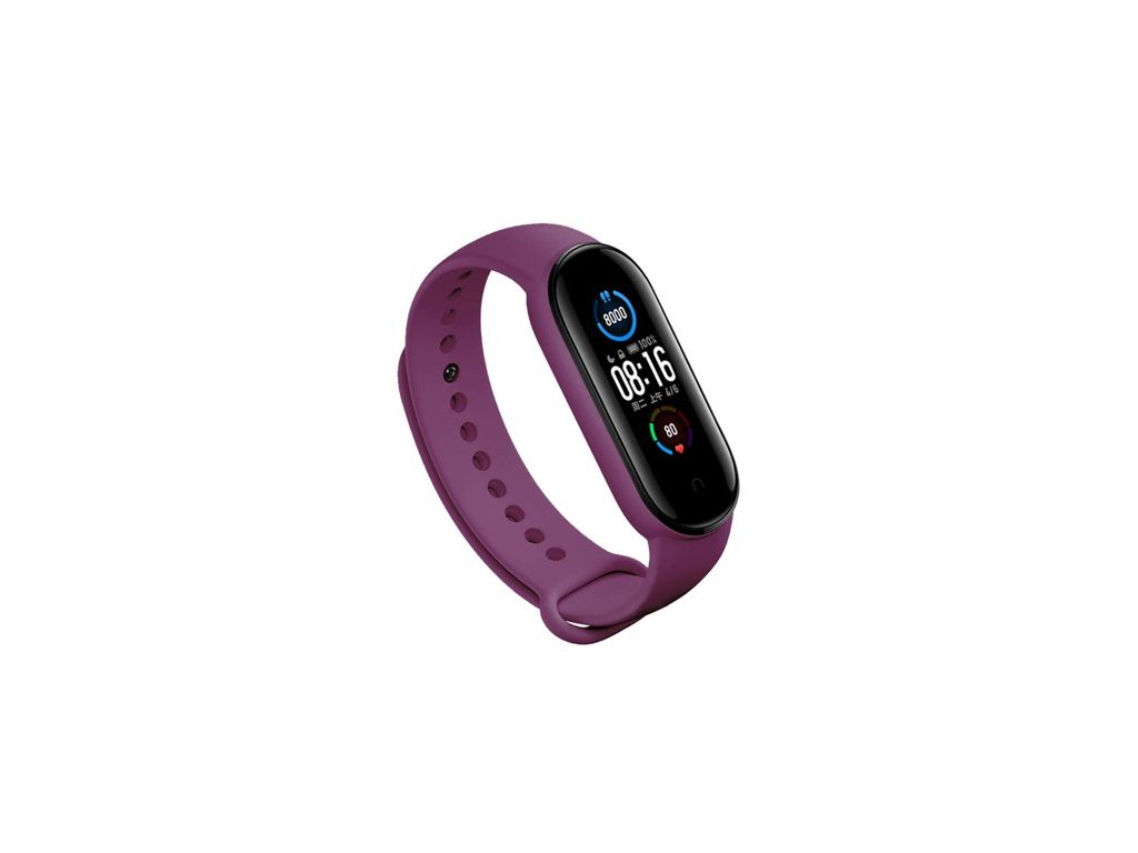 Xiaomi Mi Band 5 náhradní náramek - Purple
