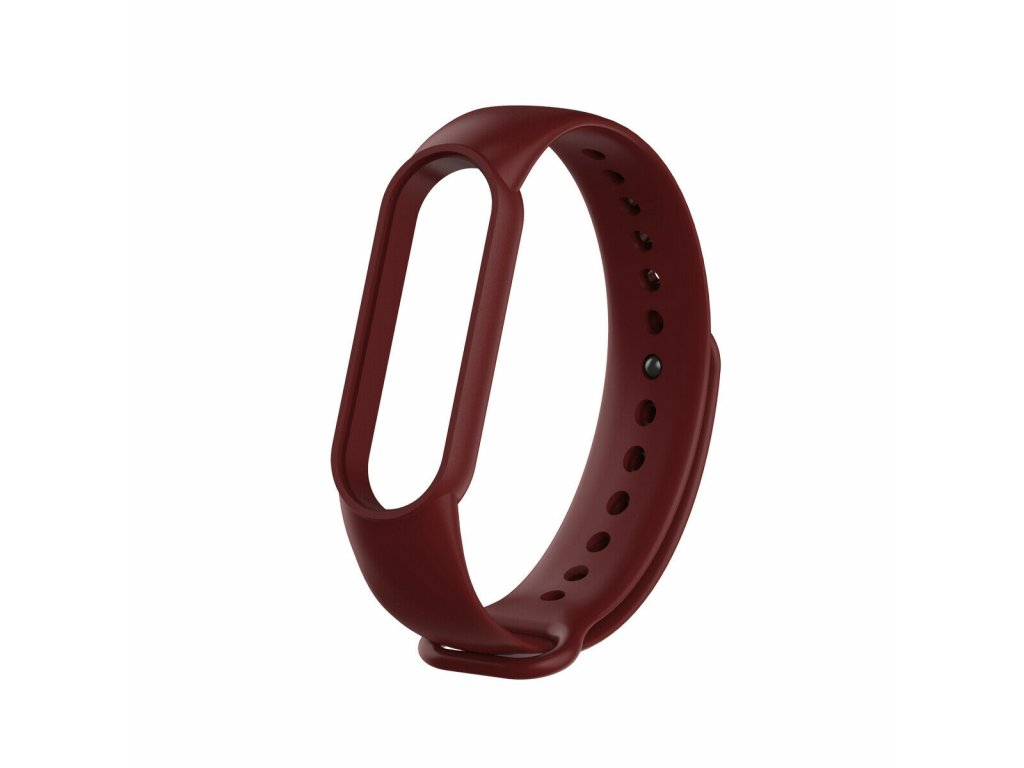 Xiaomi Mi Band 5 náhradní náramek - Dark Red