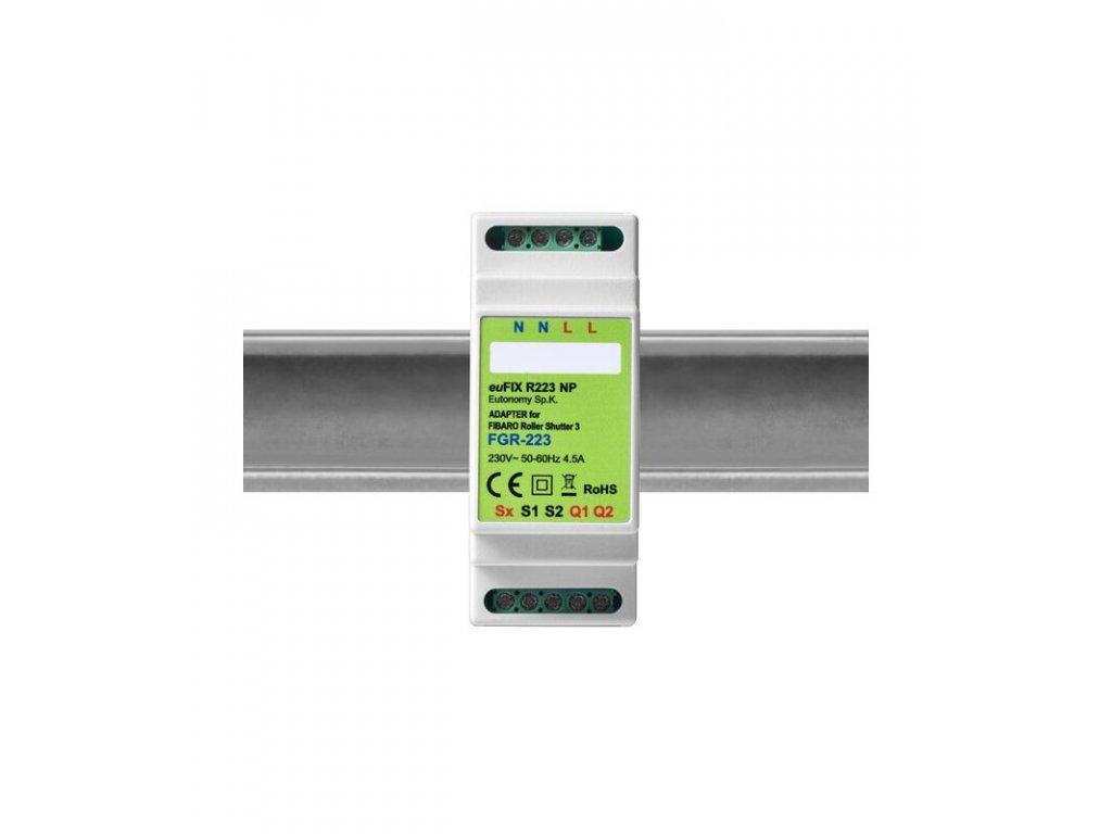 Eutonomy euFIX R223NP DIN adaptér (bez tlačítka)