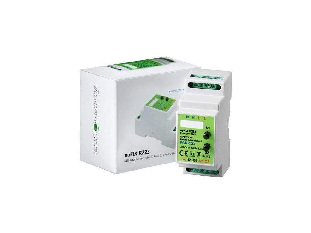 Eutonomy euFIX R223 DIN adaptér (s tlačítkem)