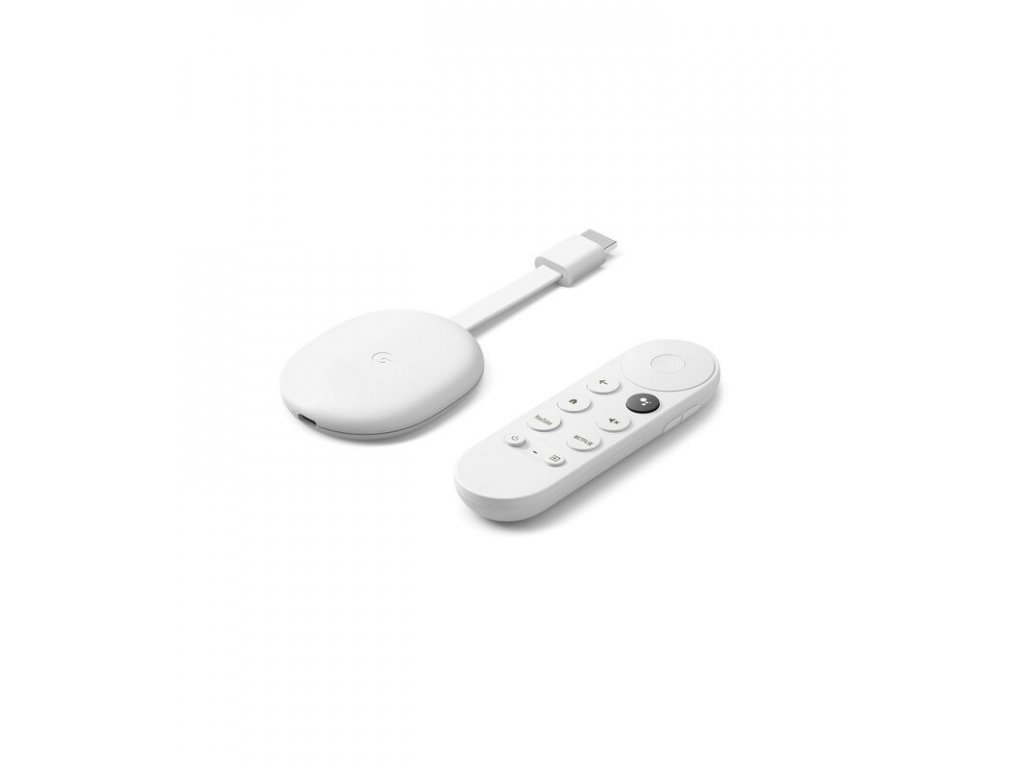 Google Chromecast 4K s Google TV Bíly (GA01919-US)