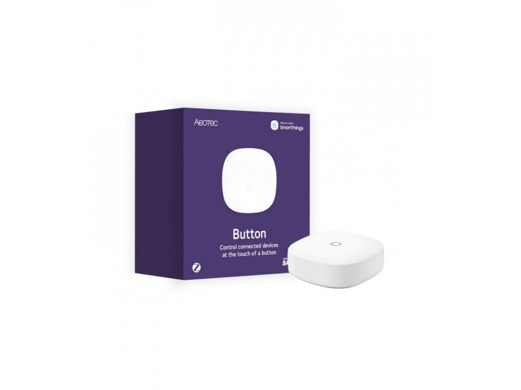 Zigbee dálkový ovladač - AEOTEC Button (SmartThings)