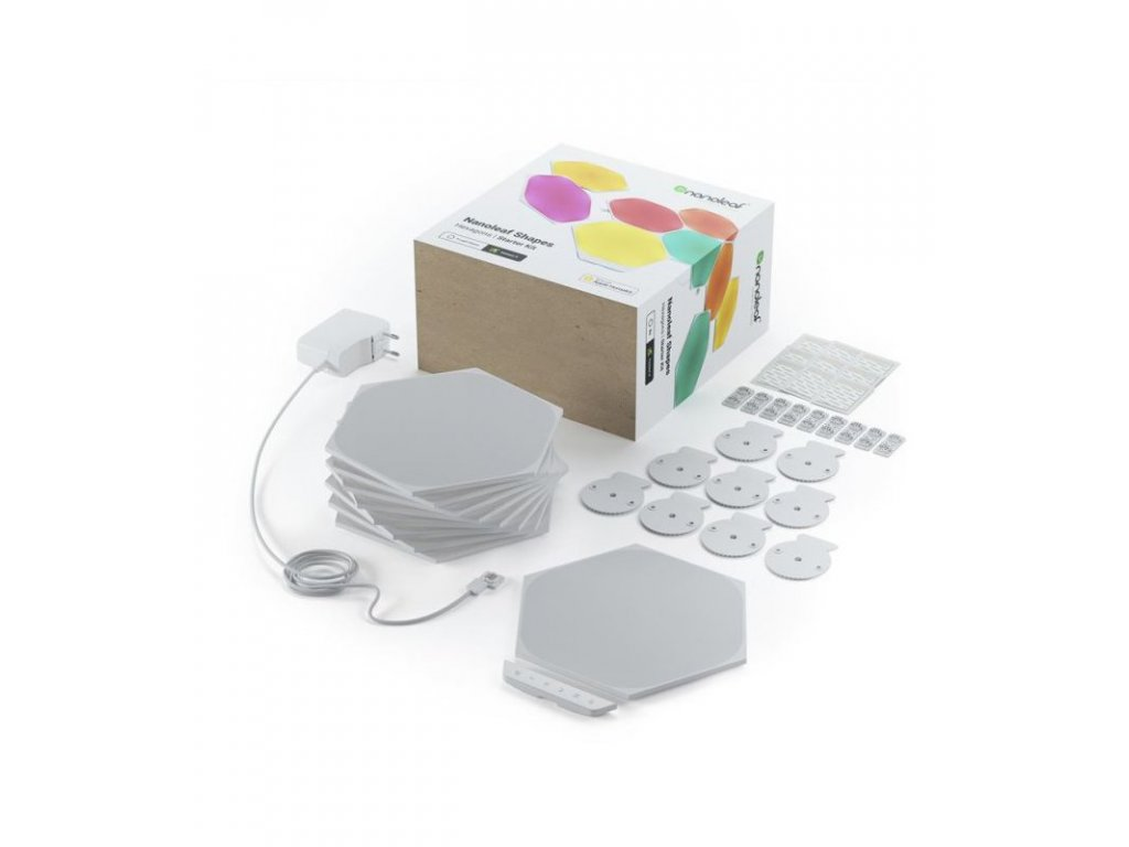 Nanoleaf Shapes Hexagons Starter Kit (9 Panels)