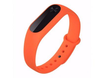Xiaomi MiBand 2 náhradní náramek Neon Orange