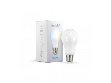 Bílá žárovka - AEOTEC LED Bulb 6 Multi-White (ZWA001-C), E27