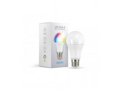 Barevná žárovka - AEOTEC LED Bulb 6 Multi-Colour (ZWA002-C), E27