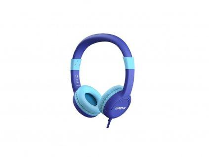 Dětská sluchátka MPOW CH1S - modrá