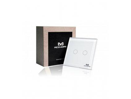 MCO Home Nástěnný dotykový panel GEN5 (2 tlačítka)