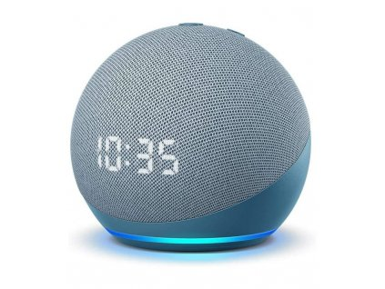 Amazon Echo Dot 4. generace s hodinami Twilight Blue