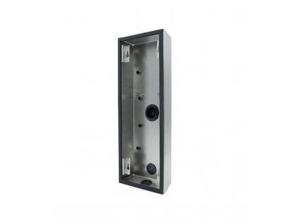 DoorBird D2101KV Montážní krabice pro povrchovou instalaci, Nerezová ocel V2A, Broušená