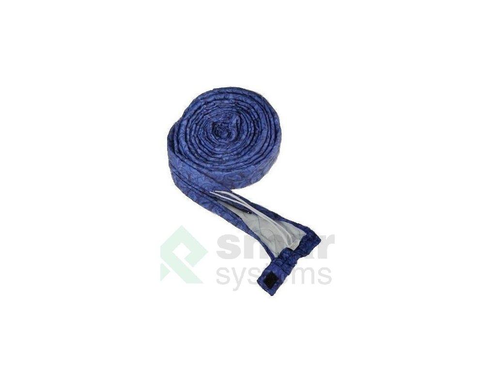 textilny navlek presivany so zipsom 105 m blue