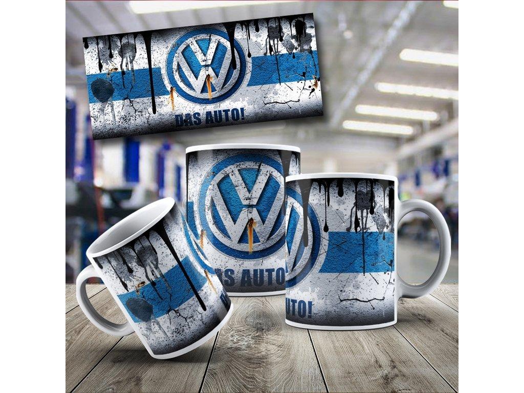 Hrneček s motivem Volkswagen