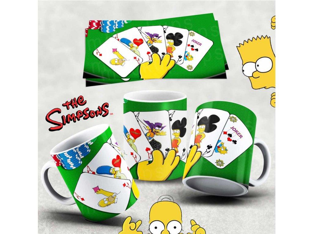 Hrneček s motivem Simpsonovi- 3