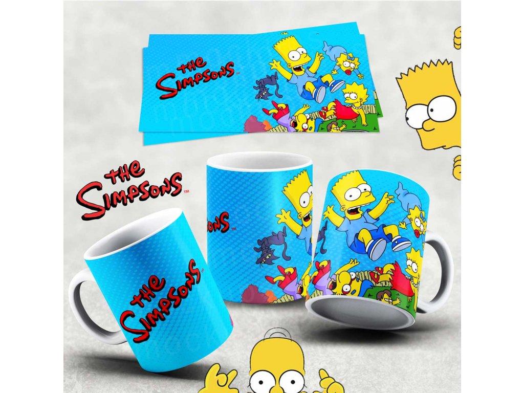 Hrneček s motivem Simpsonovi- 5