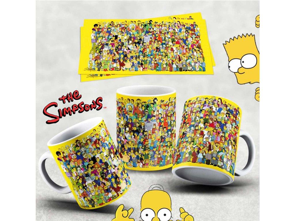 Hrneček s motivem Simpsonovi- 6