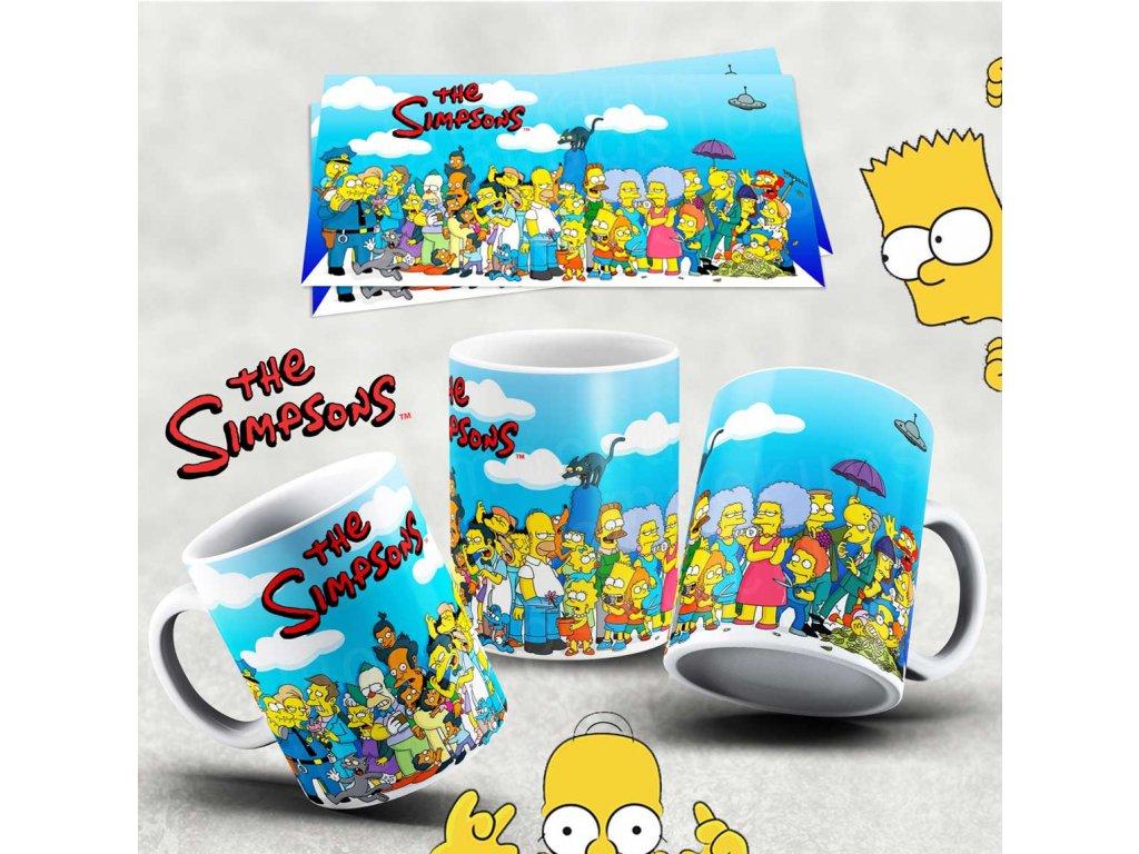 Hrneček s motivem Simpsonovi- 7