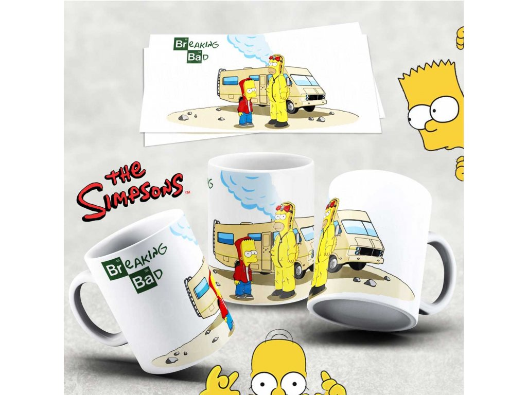 Hrneček s motivem Simpsonovi- 11