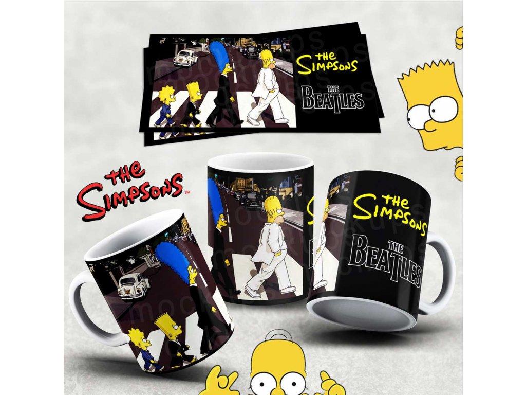 Hrneček s motivem Simpsonovi- 12
