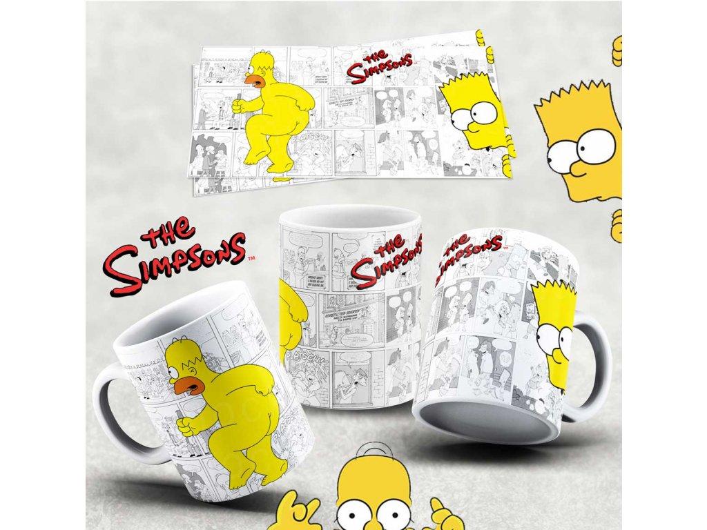Hrneček s motivem Simpsonovi- 13